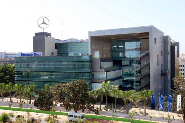 インドのバンガロールに開業したメルセデスベンツ・リサーチ&デベロップメント・インディアの新施設