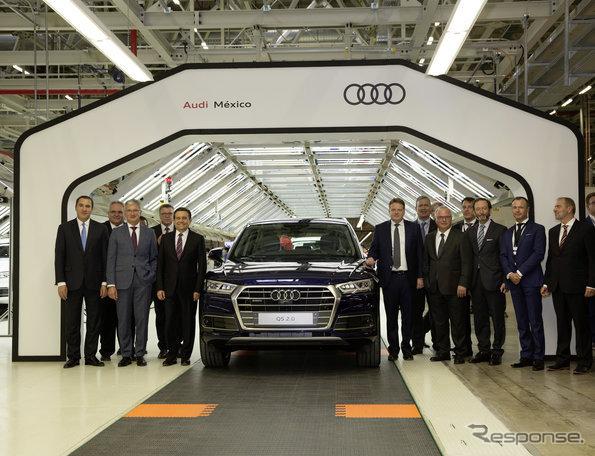 メキシコ新工場で生産が開始された新型アウディQ5
