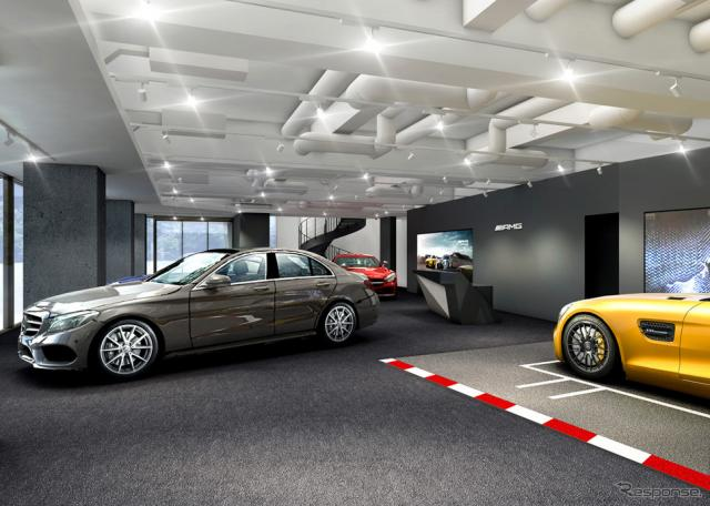 メルセデスベンツ麻布 AMGパフォーマンスセンター