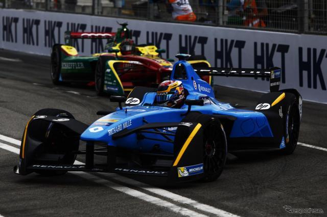 16-17シーズンのフォーミュラE開幕戦を制した#9 S.ブエミ。写真:Formula E