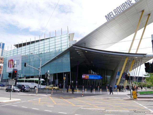 第23回ITS世界会議の会場となったメルボルン・コンベンションセンター