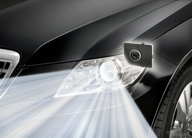 周囲の状況に応じたきめ細かな照射ができるLEDライト(参考画像)