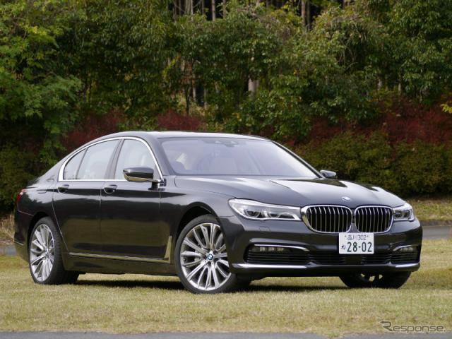 BMW 7シリーズ 新型(740i)《撮影 中村孝仁》