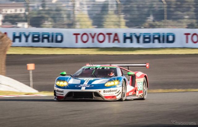 LMGTE-Proクラス予選1位の#66 フォードGT。写真:FIA WEC