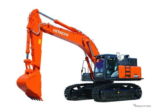 ZX530-6油圧ショベル(ロングクローラ、重掘削仕様)