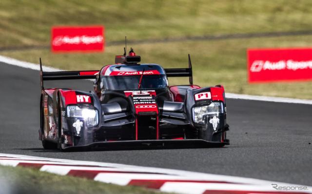 #8 アウディR18写真:FIA WEC
