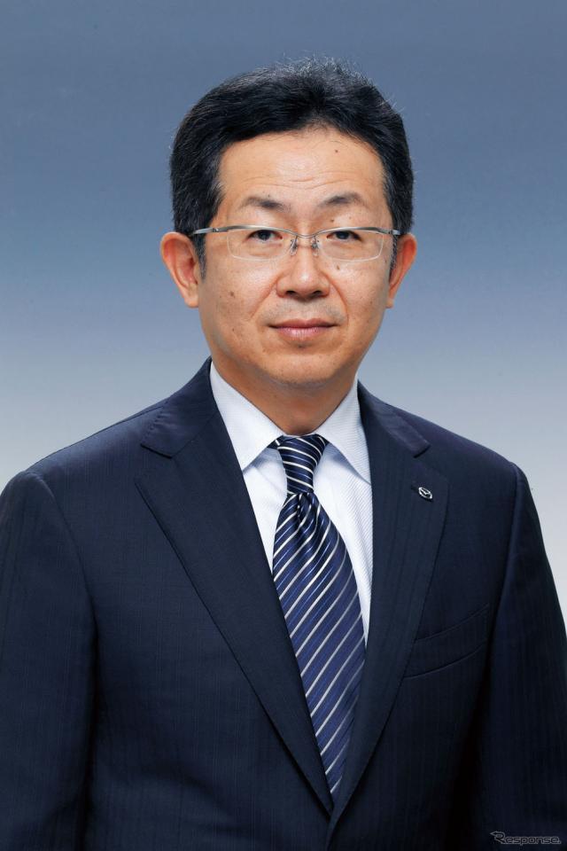 マツダ 菖蒲田清孝 専務執行役員《資料映像》