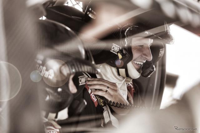 トヨタWRCチームの来季ドライバーとなったハンニネン(今年のテストシーンより)。写真:TOYOTA GAZOO Racing