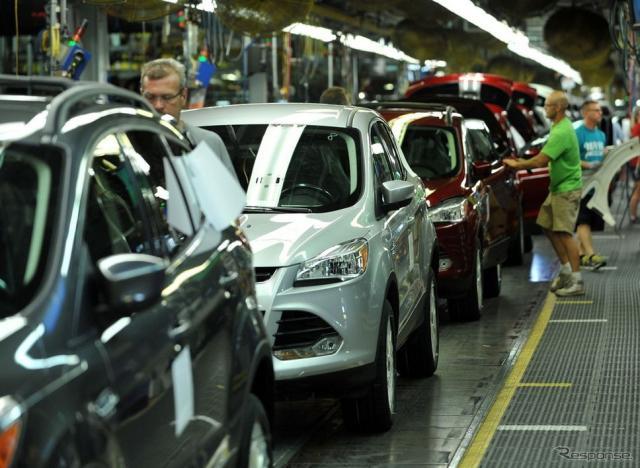 フォードモーターの米ケンタッキー州ルイビル工場(参考画像)