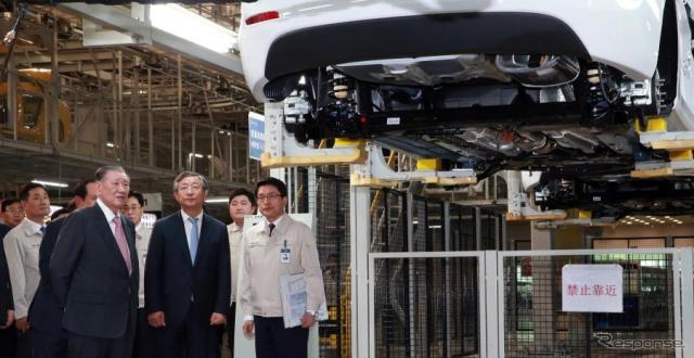 ヒュンダイの中国第4工場