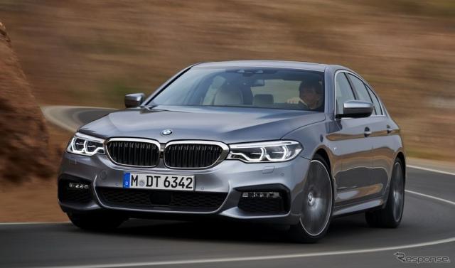 新型BMW 5シリーズ セダンの540i