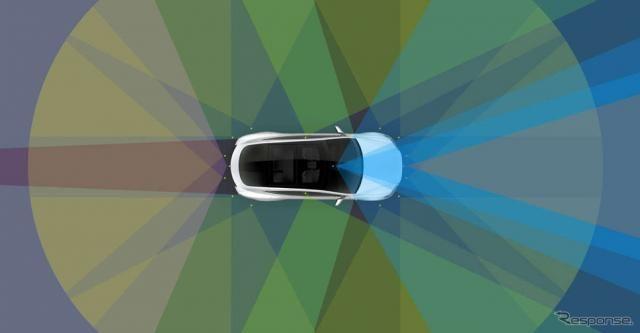 テスラ、自動運転システム調整へ…安全性と利便性を向上