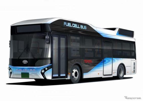トヨタ、FCバスを販売へ…都バスに2台を納入予定