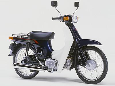 スズキ 4サイクルバーディー50 デラックスの画像