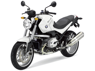 BMW R1200R アルピン・ホワイト アクティブラインの画像