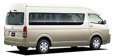 トヨタ ハイエースワゴン グランドキャビン (2005年1月モデル)