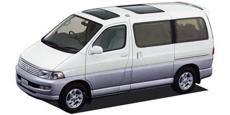 トヨタ ハイエースレジアス レジアス ツインムーンルーフ (1997年4月モデル)