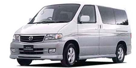 マツダ ボンゴフレンディ エアロ ノーマルルーフ (1999年2月モデル)