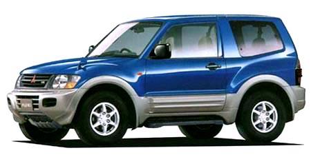 三菱 パジェロ ショート エクシード-II (2000年8月モデル)   2000年8月モデルの