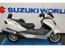 スズキ スカイウェイブ650LX 2011年式 HID装備 ホワイトカラーの画像
