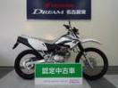 ホンダ XR230 純正ナックルガード・リヤキャリア装着車の画像