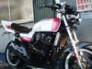 スズキ GSX400インパルス ピンク ホワイトの画像