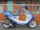 スズキ ZZ 限定カラー タイヤ駆動系他消耗品フルチェンジの画像