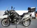 BMW R1200GSフルチタンマフラーESA電子制御サスの画像