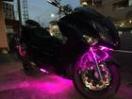 ヤマハ マジェスティ 4D9 イカリング LEDの画像