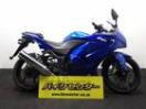 カワサキ Ninja 250R 2008年モデル 青の画像