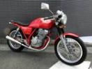 ホンダ GB250クラブマン RED セパレートハンドル スーパートラップの画像