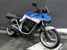 スズキ GSX250S KATANA シルバーブルー COERCEバックステップの画像