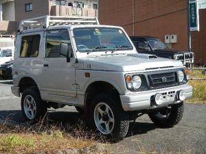スズキ ジムニー XLリミテッド 3インチリフトアップ 4WD