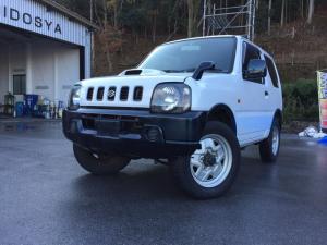 スズキ ジムニー XL 4WD ターボ 全塗装 背面タイヤ AT CD