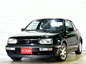 フォルクスワーゲン VW ゴルフカブリオレ ブラック&シルバー 限定 左H ディーラー車 ゴルフ3型最終