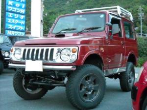 スズキ ジムニー XL 4WD 3インチUP 車検対応 レカロ調シート