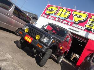 スズキ ジムニー 4WD ターボ 5速MT リフトアップ ハイルーフ