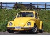 フォルクスワーゲン VW ビートル 1600インジェクション 黒黄コンビインテリア クーラー完備