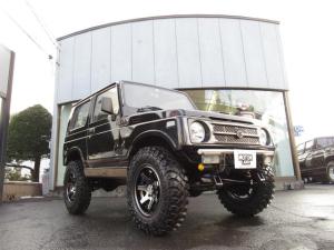 スズキ ジムニー ワイルドウインドリミテッド 4WD ハイリフト 社外マフラー