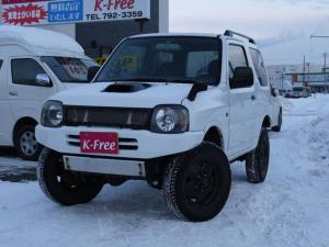 スズキ ジムニー XC 4WD 社外マフラー 社外グリル インチアップ