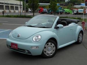 フォルクスワーゲン VW ニュービートルカブリオレ ベースグレード レザー調シート 電動ソフトトップルーフ