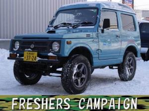 スズキ ジムニー EC 4WD 寒冷地仕様 Tベルト交換済み 夏冬タイヤ付き