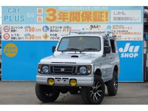 スズキ ジムニー ワイルドウインド 4WD リフトアップ 地デジナビ