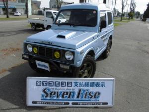 スズキ ジムニー インタークーラーターボ 事故無 切替4WD ターボタイマー