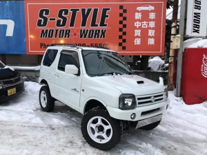 スズキ ジムニー ランドベンチャー 4WD リフトアップカスタム