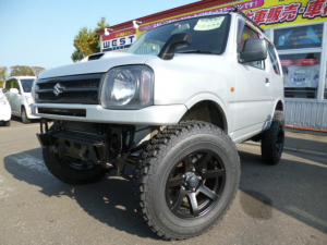 スズキ ジムニー XG 4WD FR社外バンパー