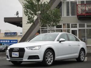 アウディ アウディ A4 2.0TFSIセーフティPKG 1オーナー 新車保証 ACC