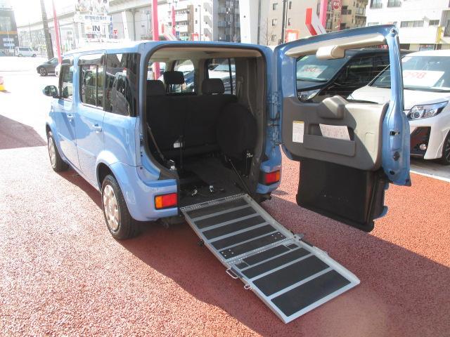 日産 キューブ 14S チェアキャブ車いす移動車