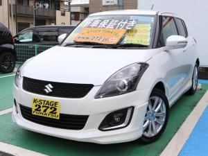 スズキ スイフト RS ディスチャージライト付 登録済未使用車 ポリマー加工済