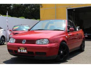 フォルクスワーゲン VW ゴルフカブリオレ カラーコンセプト 限定車 ローダウン